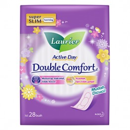 Laurier Active Day DOUBLE COMFORT 28s