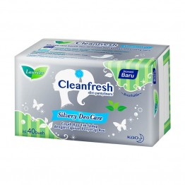 Laurier Cleanfresh Silvery Deo Care Pantyliner 40s
