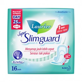 Laurier Super Slimguard Day 25cm 16s