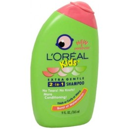 L'Oreal Kids 2 in 1 Shampoo - Cool Watermelon 265ml