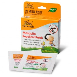 Tiger Balm Mosquito Repellent Patch - 10pcs