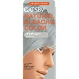 Gatsby Natural Bleach Color Aqua Silver